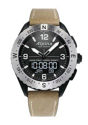 Alpina Alpiner X Men's Swiss Quartz Horological 45mm Smartwatch AL-283LBBW5SAQ6