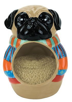 50711 Pug Pugly Sweater Dog Scrubby Holder Kitchen Cleaning Dishes Puppy Friend