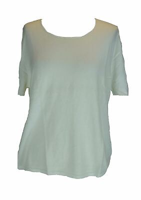 IRIS VON ARNIM White 100% Cotton Set of Tops (x2), Extra Large XL