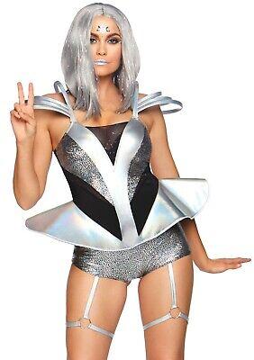 LAG 86852 Space Girl Space Cadet Außerirdische Sci - Fi Kostüm