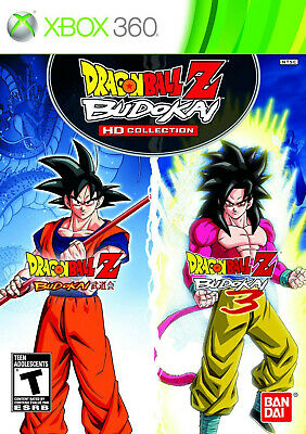 Dragon Ball Z Budokai HD Collection Microsoft Xbox 360 Video Game anime warriors