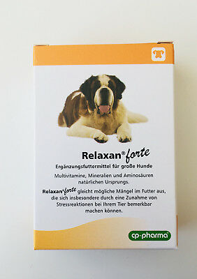 Relaxan forte - cp pharma 30 Tabletten für große Hunde  ()