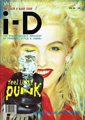 I-D #24 04/1985 The Kith & Blood Iss KATIE WESTBROOK Mary Quant FAY WELDON @exc