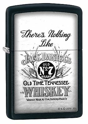 Zippo Windproof Jack Daniel's Whiskey, Old No. 7 Lighter, 29293, New In Box
