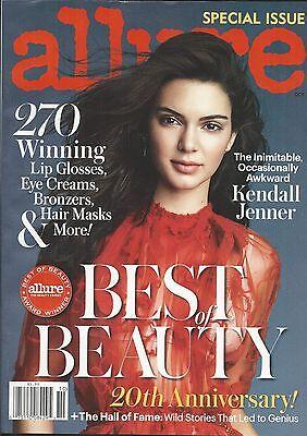 Allure Magazine Kendall Jenner Best Of Beauty Lip Gloss Eye Cream Hair Mask 2016 Allure Best Of Beauty