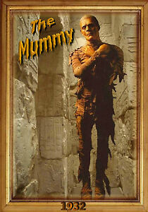 MAGNET-Movie-Monster-THE-MUMMY-Universal-Studios-1932-Boris-Karloff