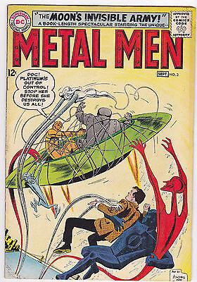 Metal Men #3, Fine - Very Fine Condition!