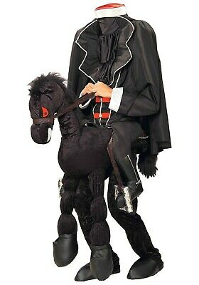 Headless Horseman Adult Costume (ADULT HEADLESS HORSEMAN WITH HORSE COSTUME SIZE STANDARD (with)