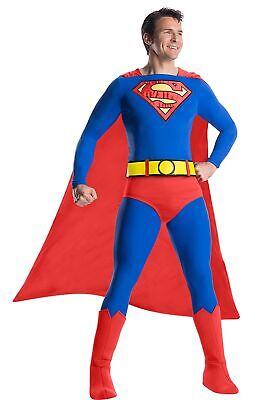 Men's Classic Premium Superman Costume (Superman Costume For Men)