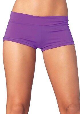 Leg Avenue Boys Shorts (Sexy Boy Shorts - Gr.L - Farbe Lila - Leg Avenue- Sexy & Feminin)