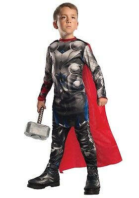 Thor Marvel Avengers Deluxe Costume Size Large L for 8 - 10 years](Thor Deluxe Costume)