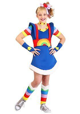 Girls Rainbow Costume (Rainbow Brite Costume for)