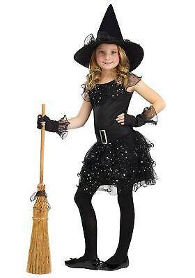 Girls Glitter Witch Costume - Glitter Witch Girl