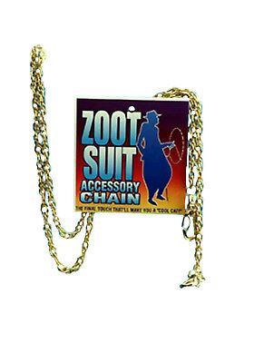 Zoot Suit Gangster Accessory Chain (Zoot Suit Chain)
