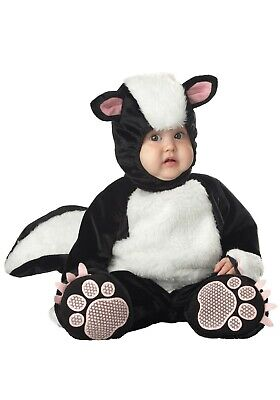 TODDLER SKUNK COSTUME SIZE LARGE 18 mths-2T (with - Skunk Toddler Halloween Costume