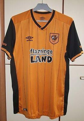 Hull City Home football shirt jersey  2015 - 2016 Size L image