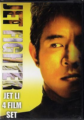 The Jet Fighter Collection: Jet Li 4-Film Set (DVD, 2008, 2-Disc Set) RARE NEW