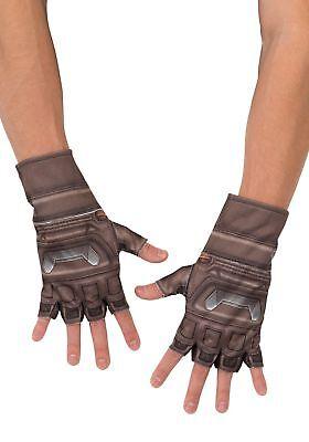 Captain America Handschuhe (The Avengers Age Of Ultron Captain America Kinder Handschuhe Marvel Neu Rubies)