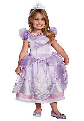 DELUXE Disney Sofia The First Licensed Child Princess Costume](Baby Sofia The First Costume)