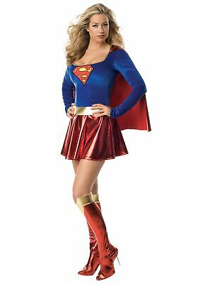 Supergirl Costume For Women (Adult Women's Sexy Supergirl)