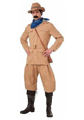 MEN'S THEODORE ROOSEVELT COSTUME SIZE STANDARD (w/defect) (Theodore Roosevelt Costume)