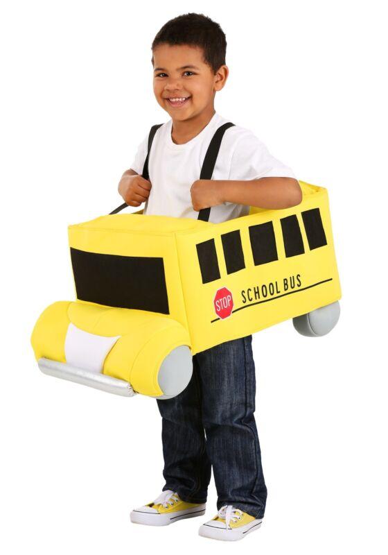 Toddler Ride in School Bus Costume