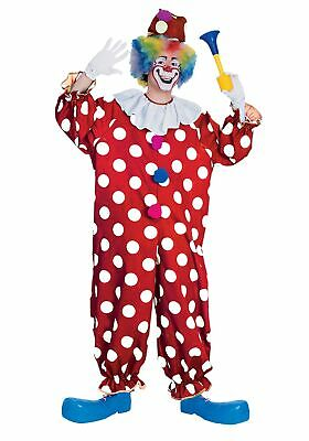 Circus Clown Costume (Adult Dotted Clown Costume)
