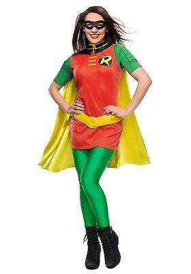 DC Women's Robin Costume - Robin Womens Kostüm