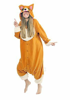 Corgi Dog Kigurumi - Adult Costume from USA