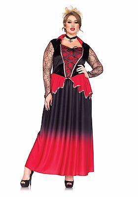 Sexy Leg Avenue Just Bitten Beauty VAMPIRE Halloween Costume Plus Size 1X/2X - Leg Avenue Vampire Costume