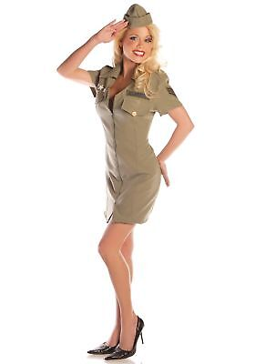Sexy Fly Girl Military - Sexy Military Girl Kostüme