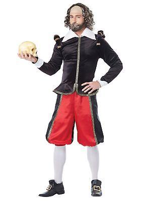 Adult William Shakespeare - William Shakespeare Kostüm