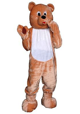 Adult Teddy Bear Mascot Costume - Adult Teddy Bear Costume