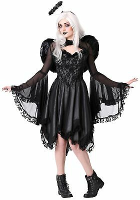 Plus Size Women's Classic Dark Angel Costume