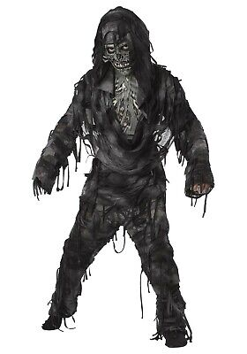 KIDS LIVING DEAD ZOMBIE COSTUME SIZE LARGE (with defect)