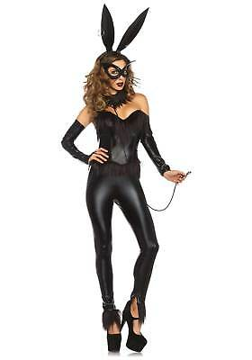 Bondage Bunny Costume, 8-14, Leg Avenue, Cat Woman, Hero, Sex Kitten, Halloween - Halloween Costume Bondage