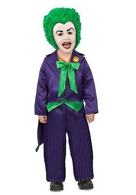 Toddler Joker Costume (THE JOKER DC COMICS VILLAIN TODDLER COSTUME BY PRINCESS PARADISE SIZE)