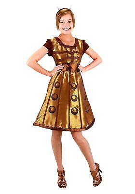 Women's Doctor Who Dalek Costume Dress size L/XL (with defect) fits up to 5'9