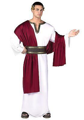 Deluxe Caesar Roman Greek Toga Adult Costume](Men Toga Costume)