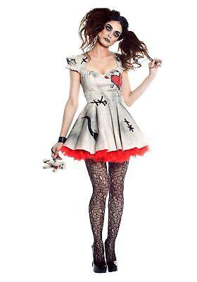 Womens Voodoo Doll Costume - Womens Voodoo Doll Costume