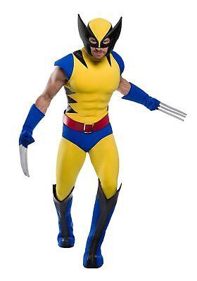 Premium Marvel Wolverine Plus Size Men's Costume (Wolverine Costume Adults)