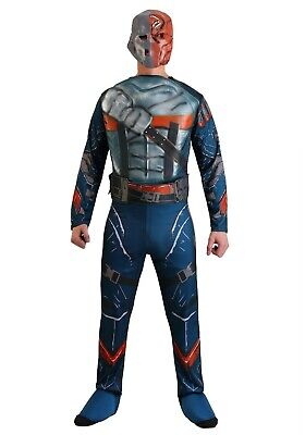 ADULT DELUXE DEATHSTROKE BATMAN COSTUME SIZE MEDIUM (with defect) - Deathstroke Costumes