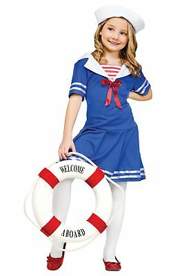 Girls Sweet Sailor Costume (Sailor Costumes For Girls)