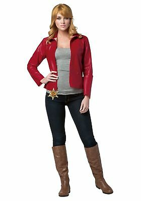 Once Upon a Time Emma Swan Costume for Women Size L NEW](Once Upon A Time Red Halloween Costume)