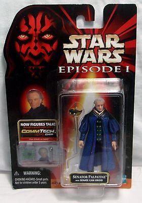 Hasbro Star Wars Episode I Senator Palpatine Action Figure - CommTech Chip