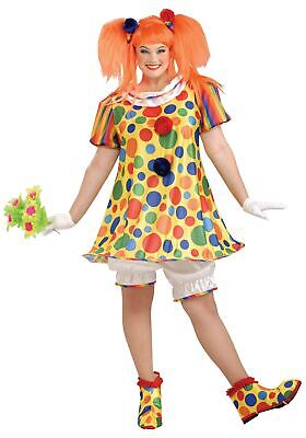 Plus Size Giggles the Clown Costume - Plus Size Womens Clown Costumes