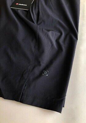 "Men's Lululemon T.H.E. Short Solid Black LL Workout Shorts 9"" the - New!   sz M"
