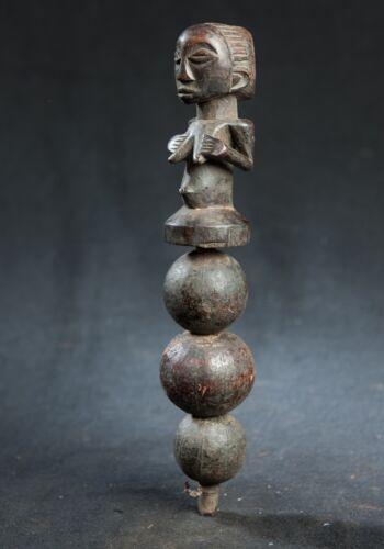 Luba, Figure (dance rattle) , D.R. Congo, Central African Tribal Arts