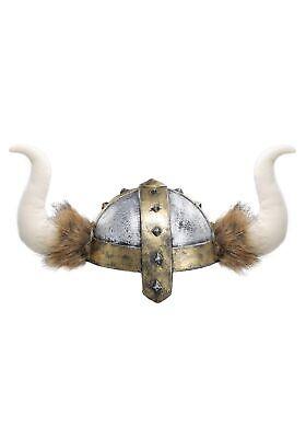 Childrens Viking Helmet (Horned Viking Kids Helmet)