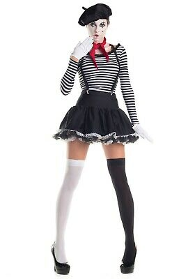 WOMEN'S MESMERIZING MIME COSTUME SIZE XL (USED)](Mime Costume For Women)